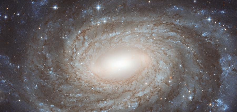 NGC 6384, une spirale au-delà des étoiles