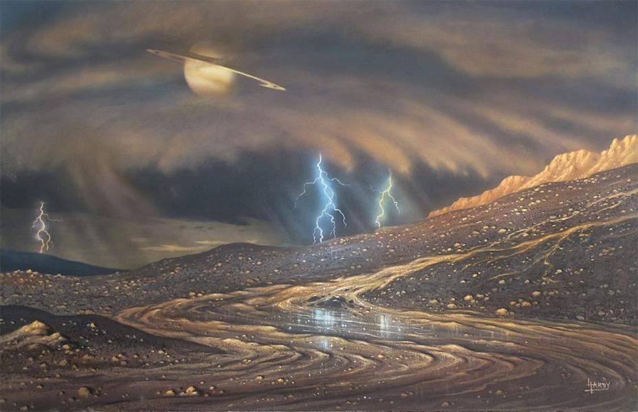 Il pleut sur Titan