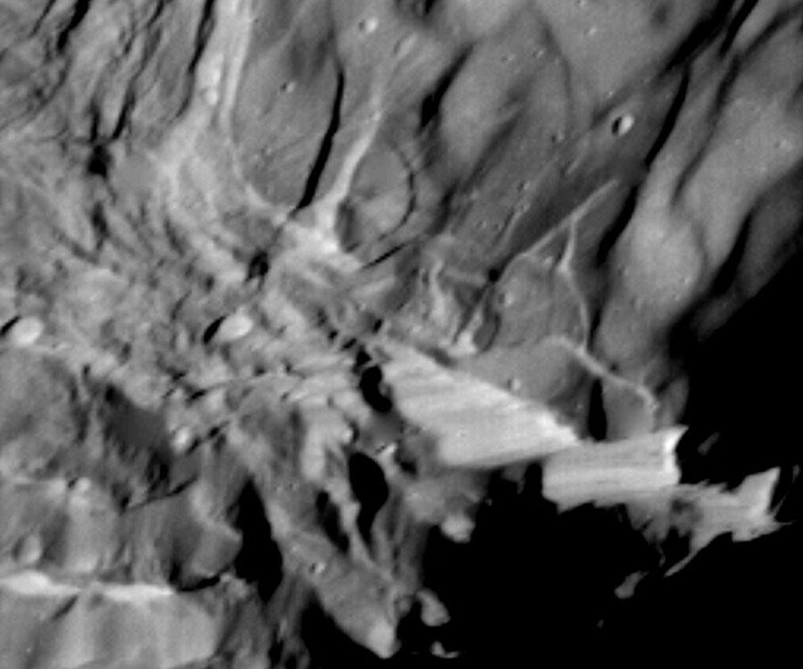 Verona Rupes, plus haute falaise de tout le système solaire