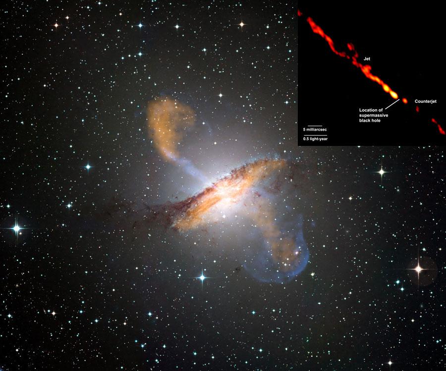 Les jets de Centaurus A