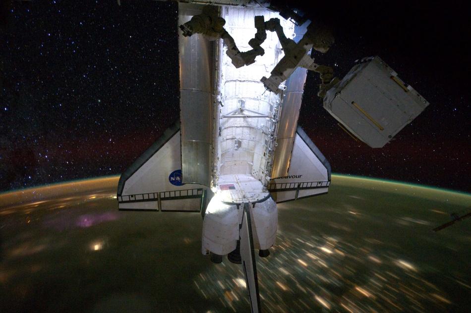 La nuit étoilée d'Endeavour