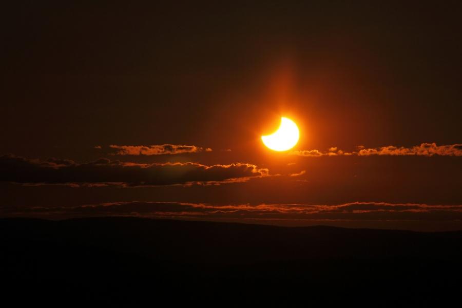 L\'éclipse du Soleil de Minuit