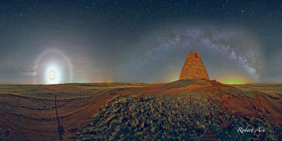 Terrain de jeu pour géomètre dans le Wyoming
