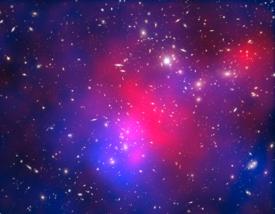 L'amas de galaxies de Pandore