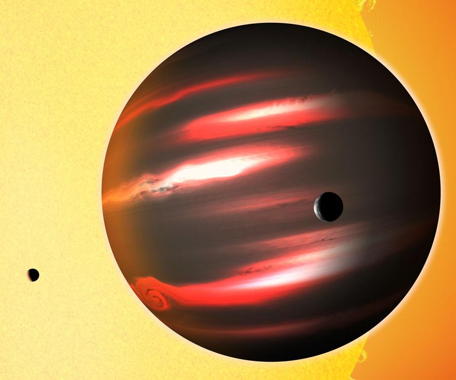 TrES-2b, planète sombre