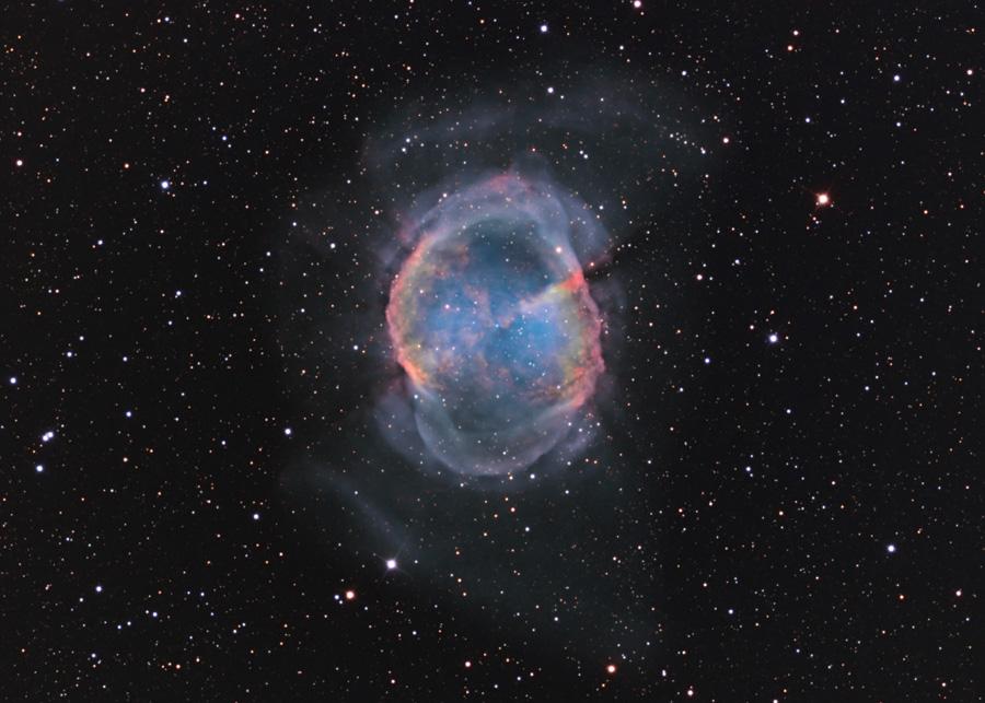 M27, pas une comète