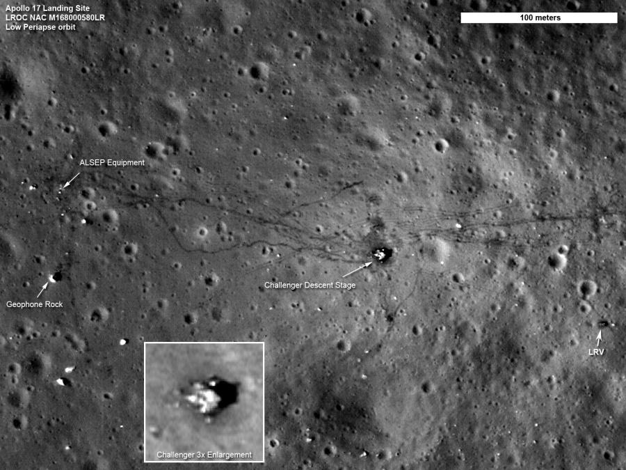 Un nouveau regard sur Apollo 17
