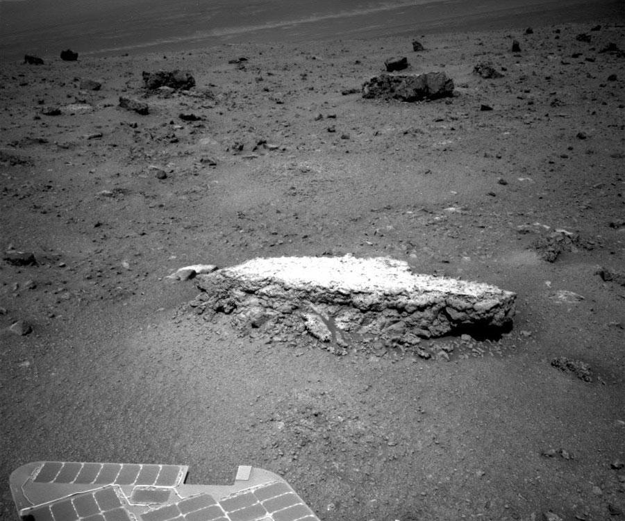 La formation rocheuse Tisdale 2 sur Mars