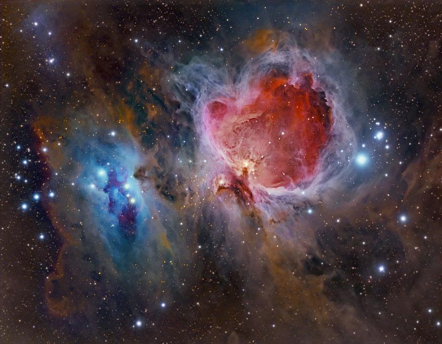 La grande nébuleuse d\'Orion