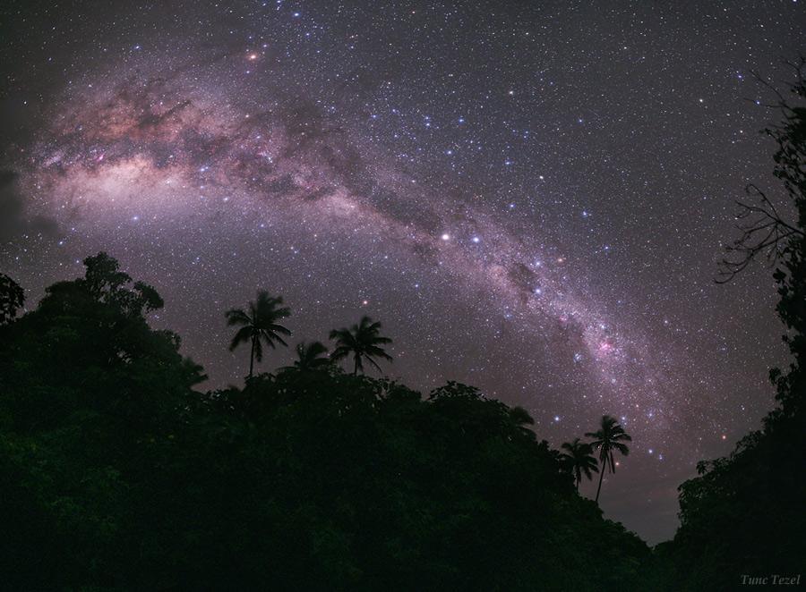 La Voie Lactée de Mangaia