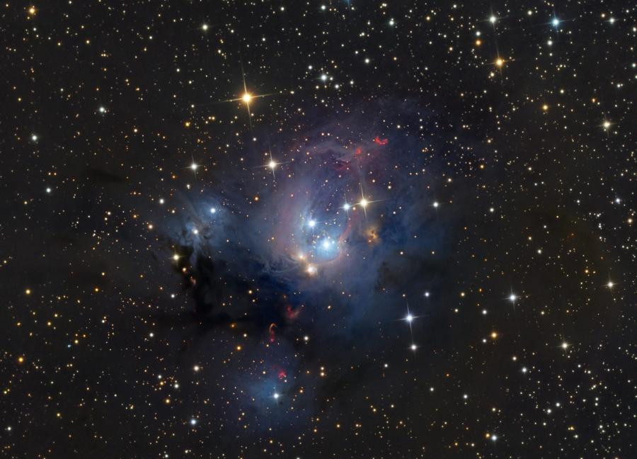 Les jeunes soleils de NGC 7129