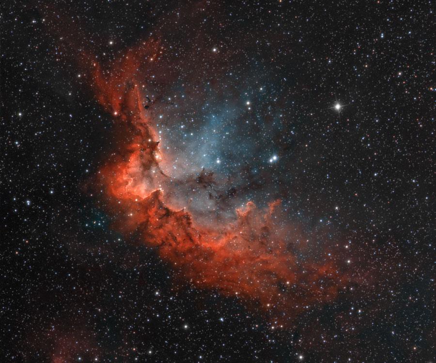 NGC 7380, la nébuleuse du Sorcier