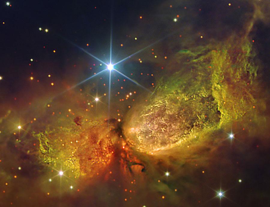 La pouponnière d\'étoiles S106