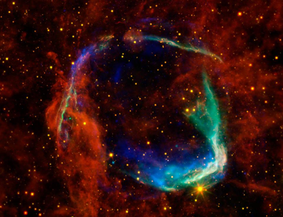 RCW 86, le rémanent d'une supernova historique