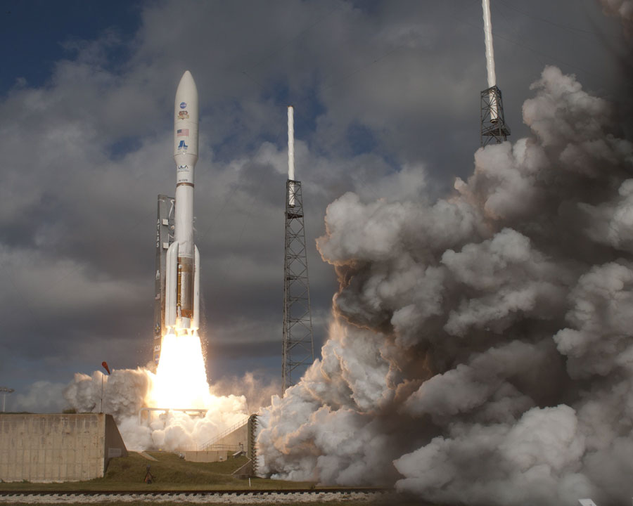 Curiosity en route pour Mars