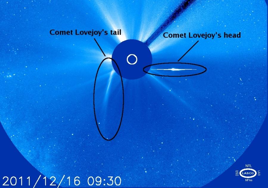 La comète Lovejoy a survécu