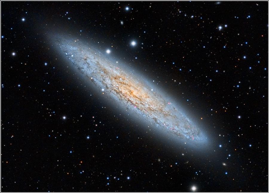 NGC 253, galaxie du Sculpteur