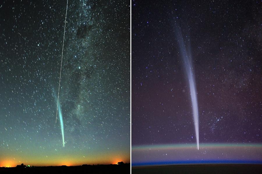 La comète Lovejoy et l\'ISS