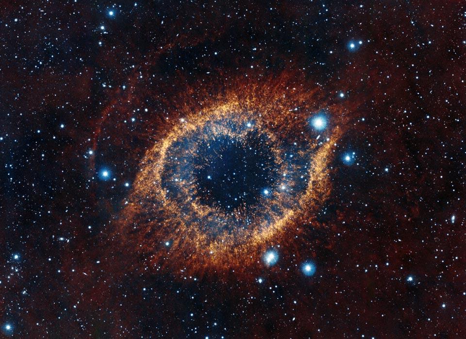 La nébuleuse Helix vue par VISTA