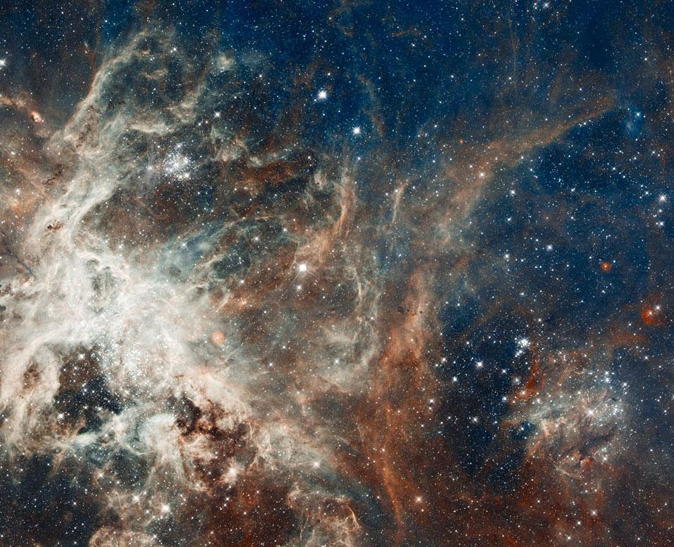 Formation d\'étoiles dans la Tarentule