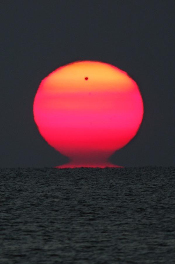Quand Vénus se lève avec le Soleil