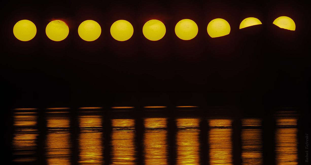 Transit au Soleil de Minuit