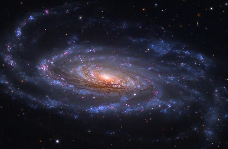 La galaxie spirale NGC 5033