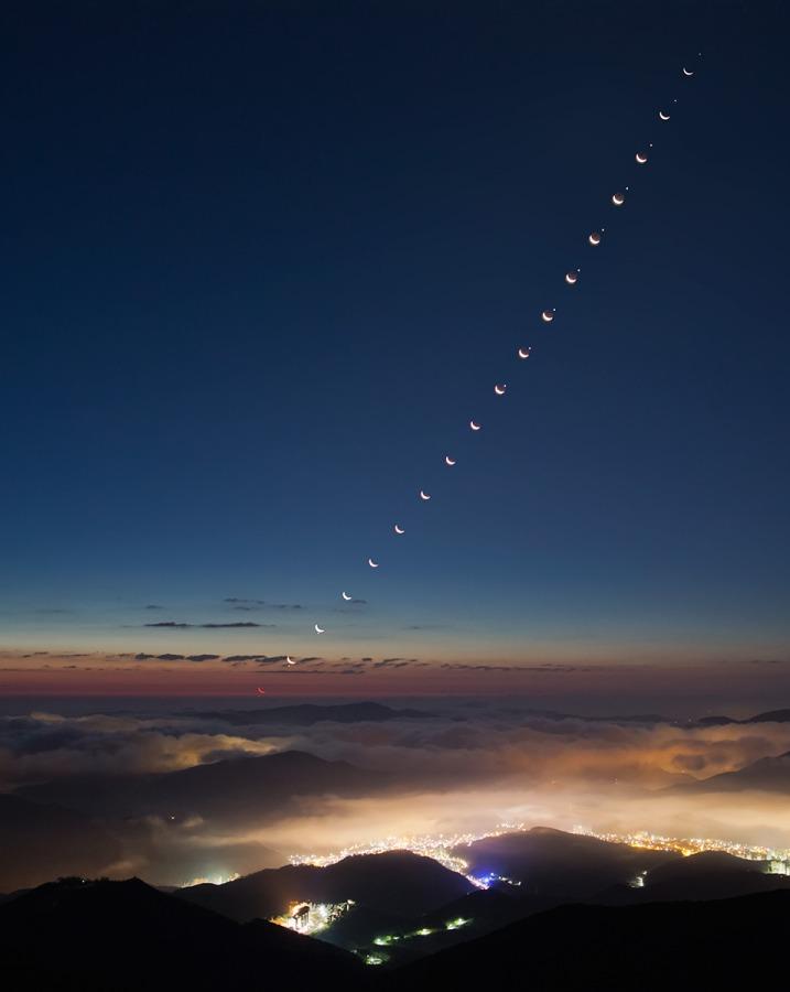 Quand la Lune éclipse Vénus