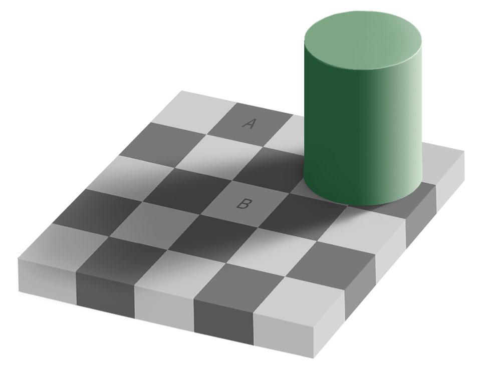 L\'illusion de la même couleur