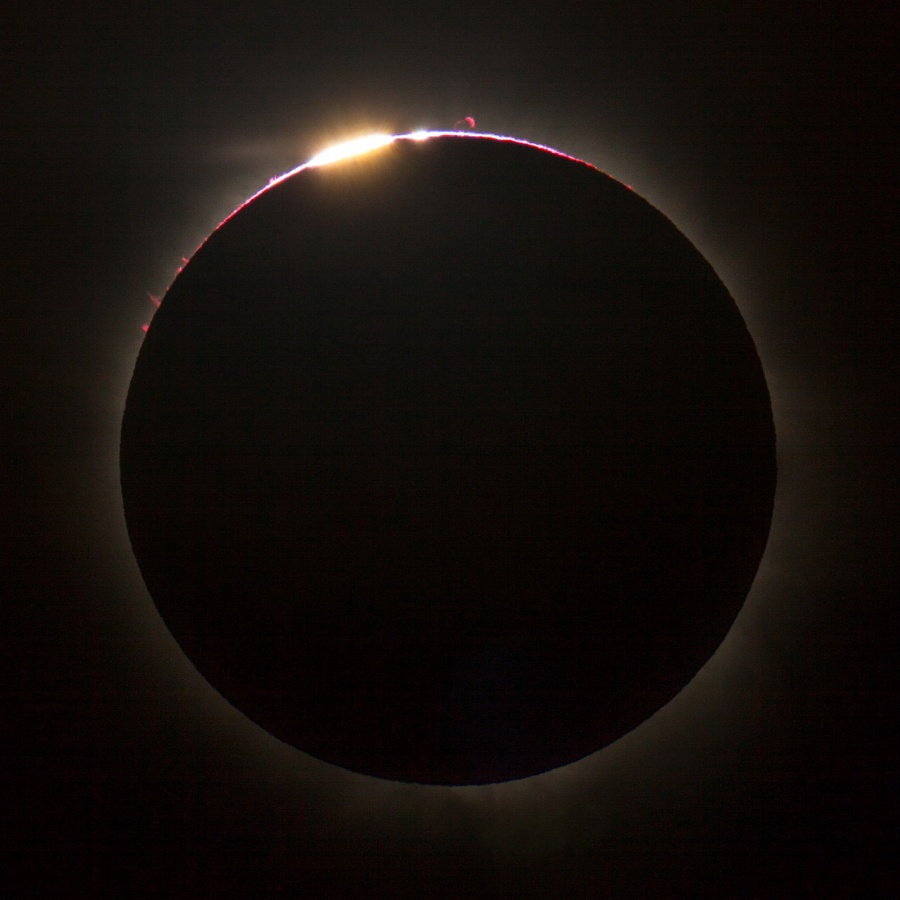 Eclipse sur le Queensland