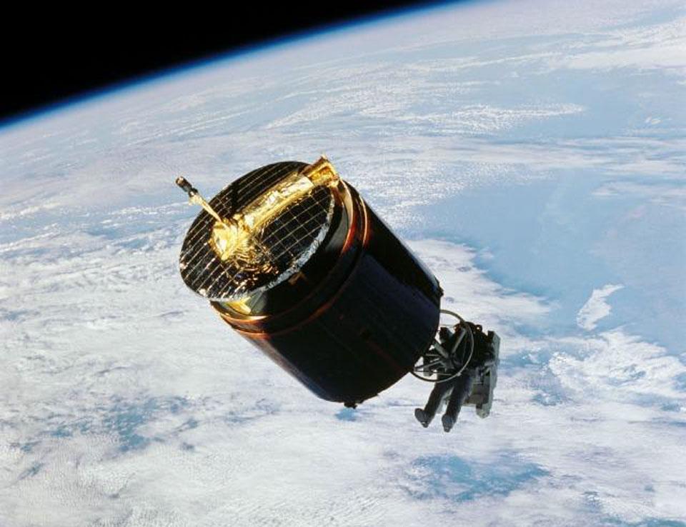 L\'astronaute qui captura un satellite