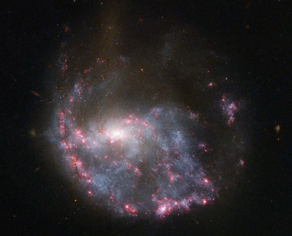NGC 922, une galaxie qui fait des vagues