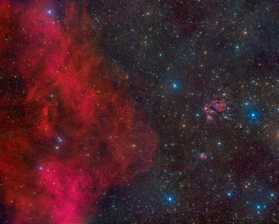 Entre la Boucle de Barnard et NGC 2170