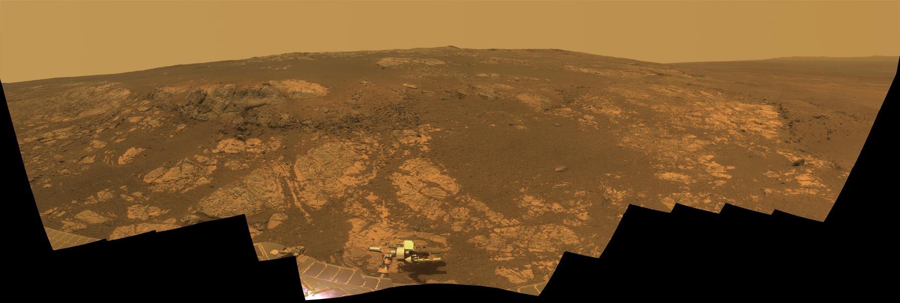 Panorama de Matijevic Hill