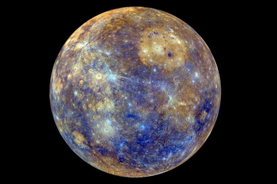 Les couleurs de Mercure
