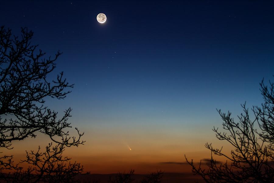 La comète PanSTARRS vue de France