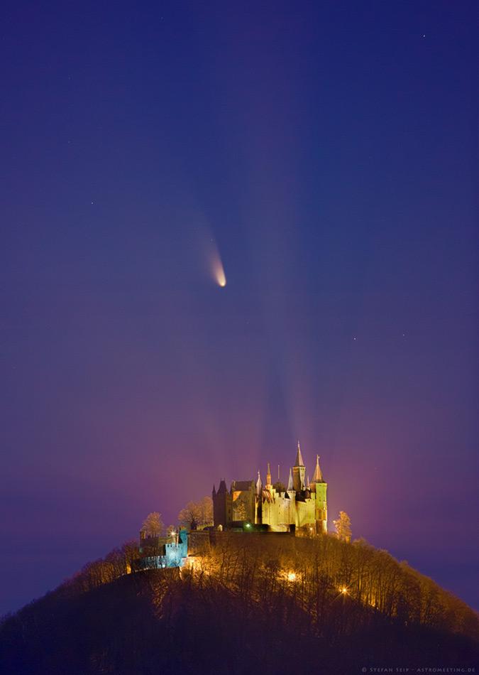 Le château de la comète
