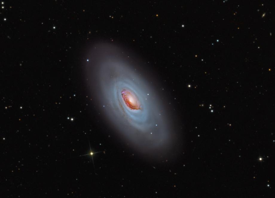La galaxie de la Belle endormie