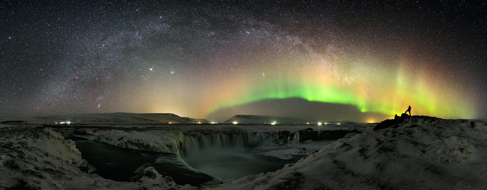 Une aurore boréale au crépuscule des dieux
