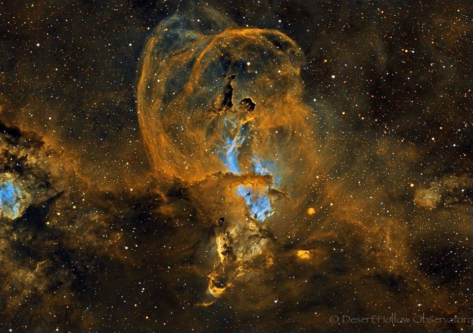 La région de formation d\'étoiles NGC 3582