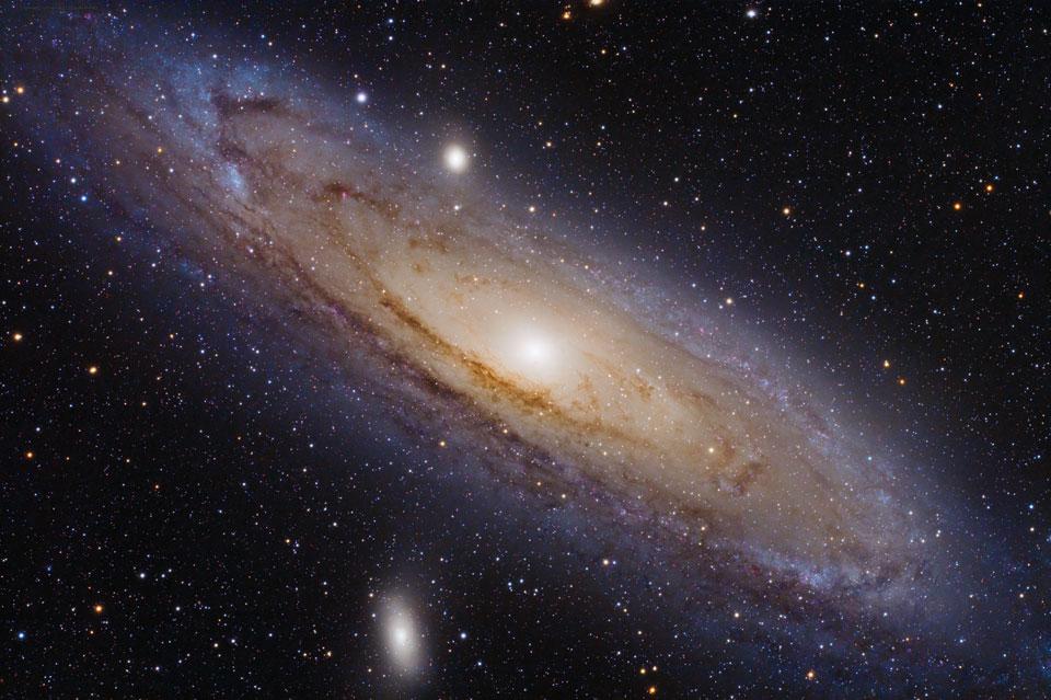 M31, la galaxie d\'Andromède
