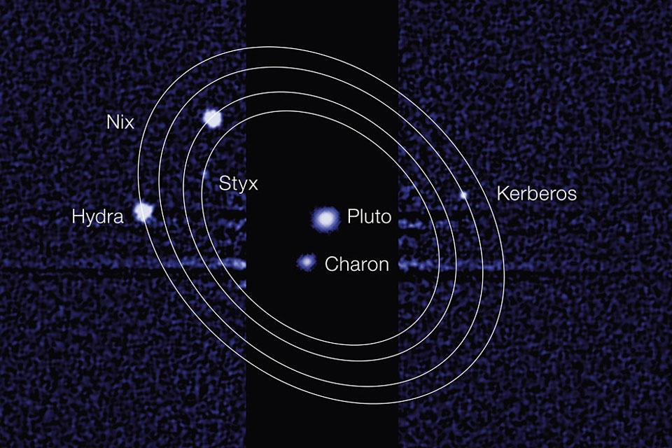 Les nouvelles lunes de Pluton officiellement nommées