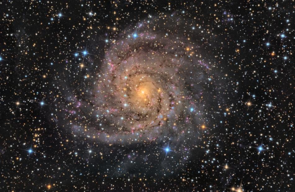 IC 342, la galaxie cachée
