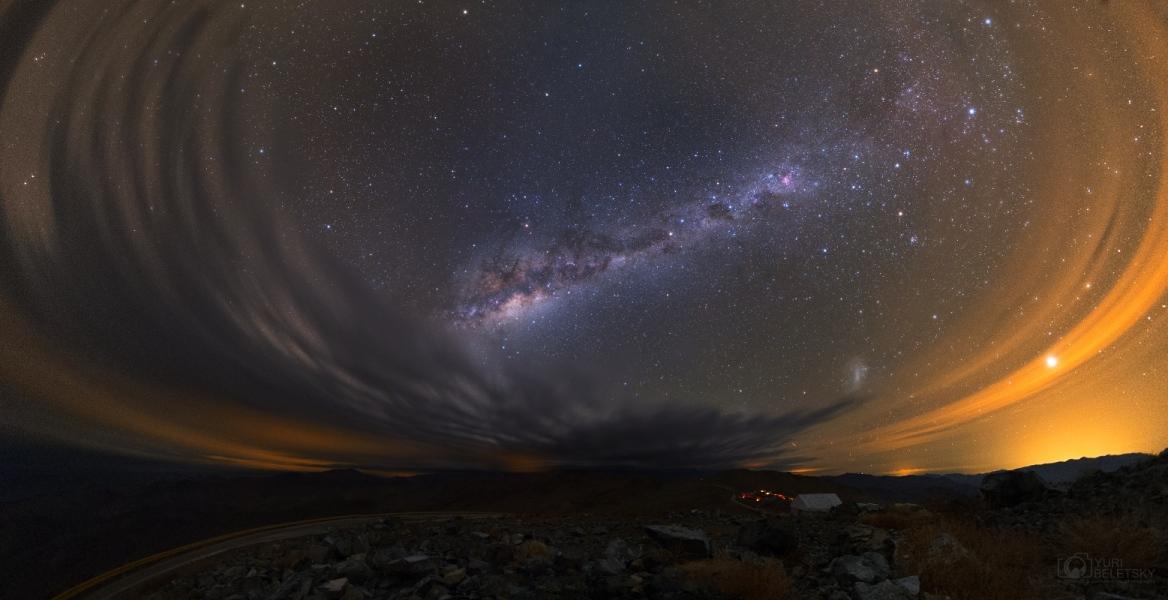 Nuages sur l\'Atacama