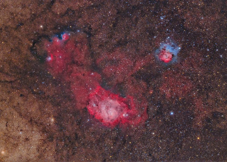 Les triplettes du Sagittaire