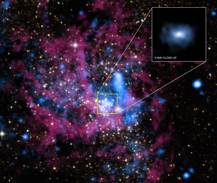 Sagittarius A*, tranquille