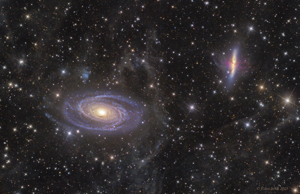 M81 contre M82, la guerre des galaxies