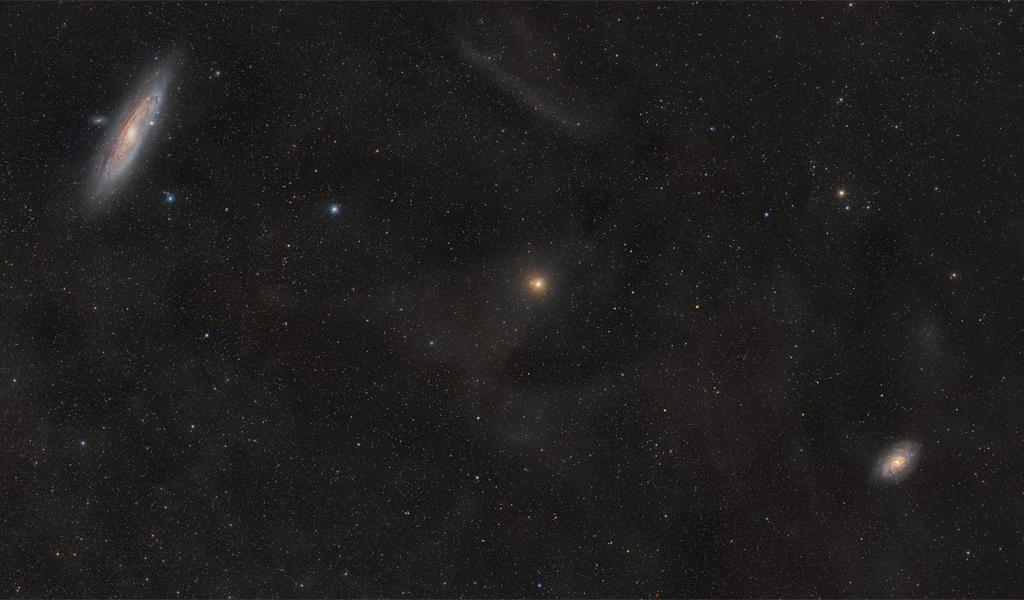 M31 et M33, promises l\'une à l\'autre