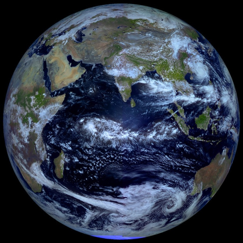 La Terre à l\'équinoxe
