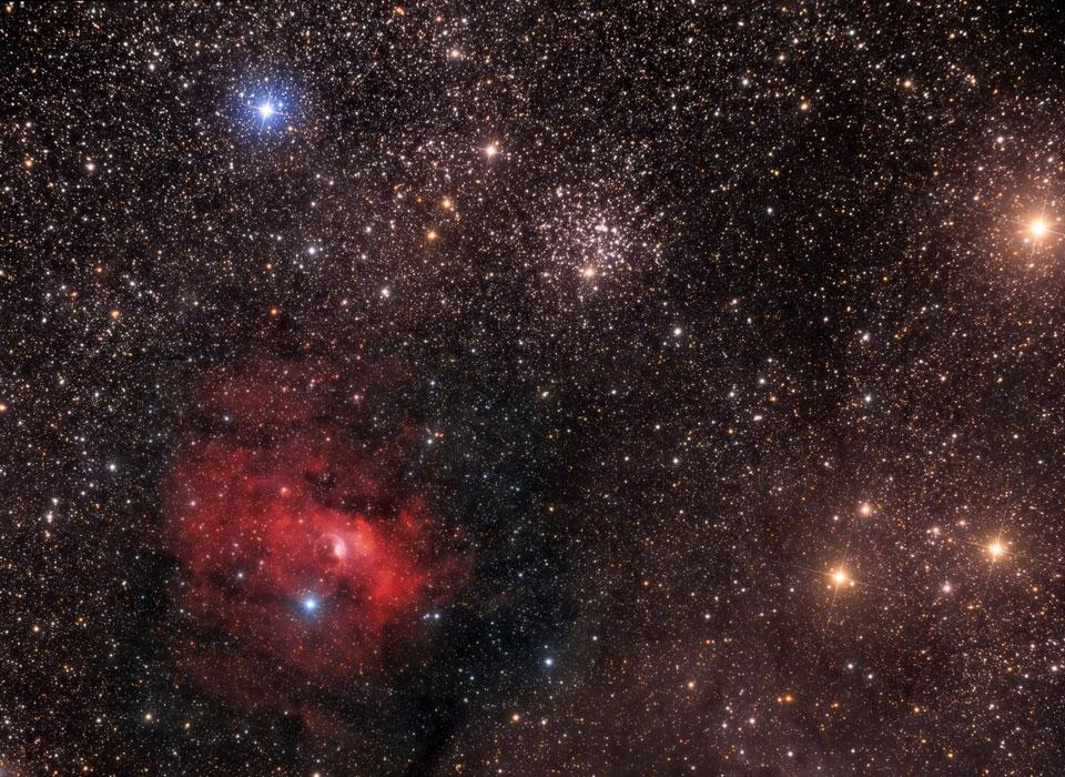 La Bulle et M52